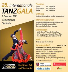 25. Internationale TANZGALA